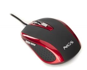 NGS Tick 800DPI Óptico Rojo