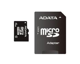 ADATA MicroSD 4GB 1Adaptador