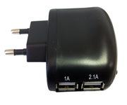 Coolbox Cargador USB Pared UX-2