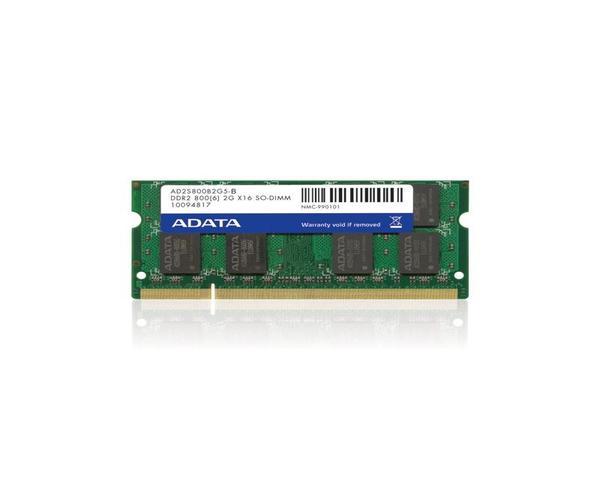 Adata DDR2 2Gb 800Mhz Portátil