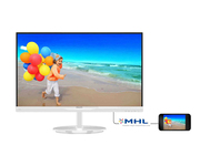 Philips 234E5QHAW 23'' LED-IPS Slim Multimedia Blanco