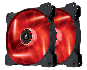 Corsair The Air SP140MM Rojo 2uds