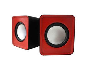 Approx Mini Altavoces 2.0 SPX1 Rojo