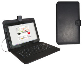 Approx Funda + Teclado Tablet 9''