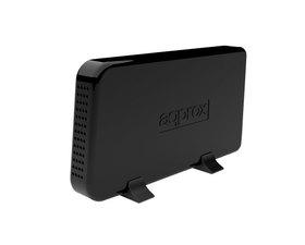 Approx Caja Externa 3.5'' USB Negra