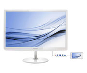 Philips 247E6EDAW 23.6'' LED IPS MHL Multimedia SoftBlue Blanco