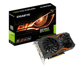 Gigabyte GeForce GTX1050 TI G1 GAMING 4GB GDDR5
