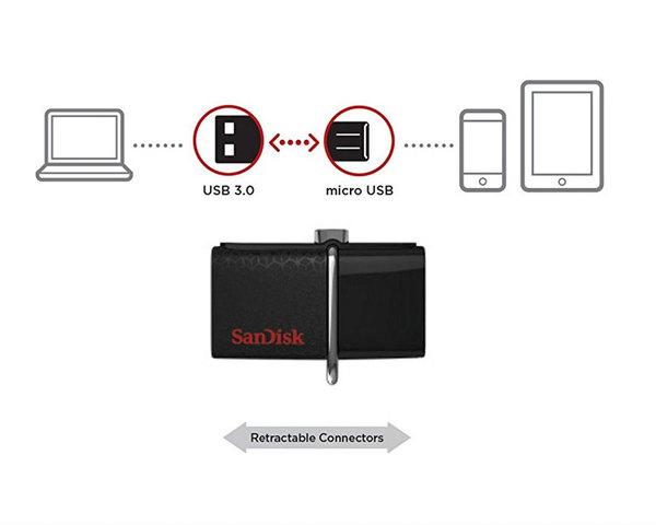 Sandisk Ultra Dual 64GB Micro OTG