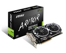 MSI GTX1060 6GT OCV1 6GB GDDR5