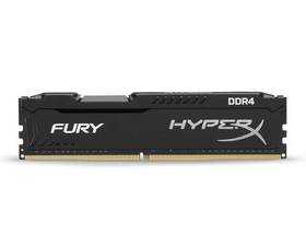 Kingston HyperX Fury Black DDR4 8GB 2400 Mhz.
