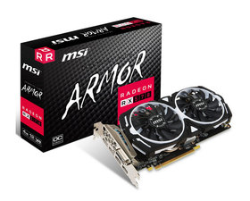 VGA AMD RADEON RX 570 ARMOR 4G OC MSI