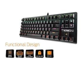 Gamdias Hermes E2 Brown Switch Gaming