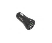 Coolbox Cargador USB Coche Ultrarapido Negro