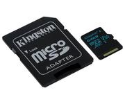 Kingston microSD 64GB Clase 10 Adaptador