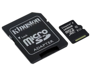Kingston microSD 128GB Clase 10 Adaptador