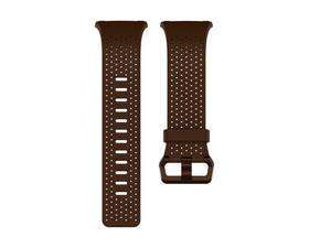 Fitbit Correa Cuero Perforado Ionic Coñac S
