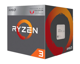 AMD Ryzen 3 2200G 3.5GHz Tray AM4