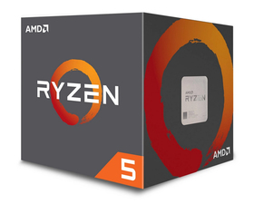 AMD Ryzen 5 2600X 3.6GHz Tray AM4