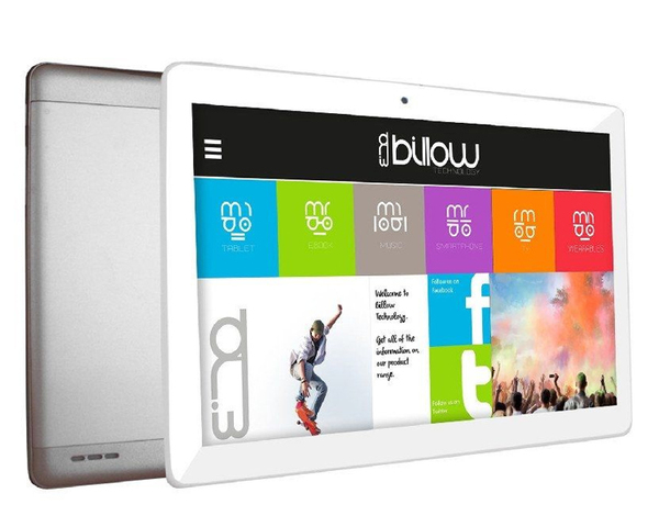 Tablet Billow X103PRO 3G plata