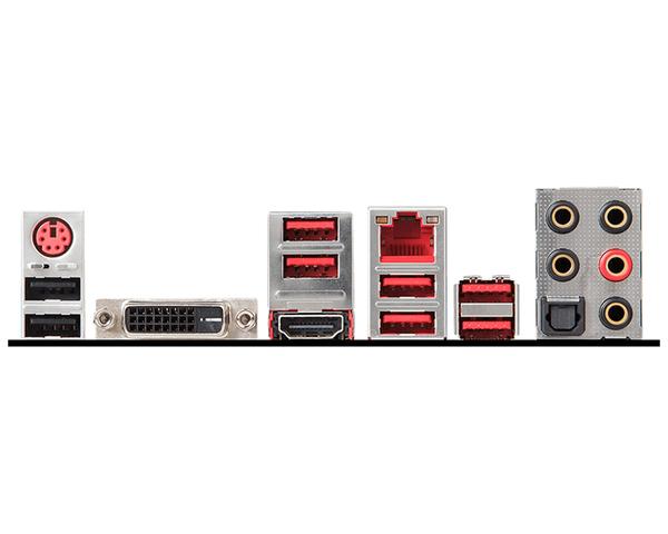 Conectores MSI X470 GAMING PLUS