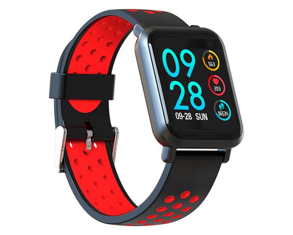 Smartwatch Leotec MultiSport Helse Color rojo