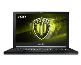 """MSI WS63 8SJ-061XES / i7-8750H / 16GB / 1TB+256SSD / 15.6"""""""