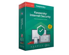 Kaspersky Internet Security 2020 1 Licencia 1 Dispositivo 1 Año