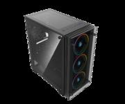 CoolBox DeepRainbow A-RGB Cristal Templado USB 3.0 Negro
