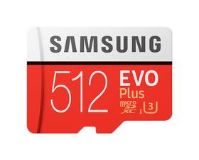 Samsung MicroSD EVO Plus 512GB Clase 10 + Adaptador