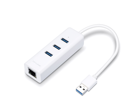 TP-Link UE330 Adaptador de Red USB 3.0 A Ethernet Gigabit 3 x USB 3.0