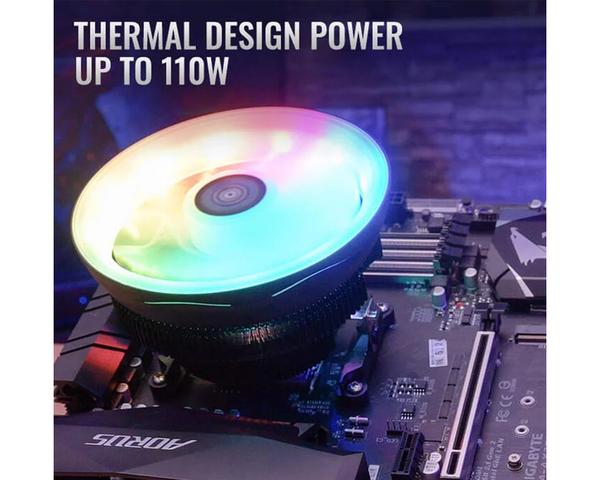 AeroCool Core Plus ARGB CPU Ventilador 120mm