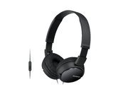 Sony MDR-ZX110AP Auriculares Negro