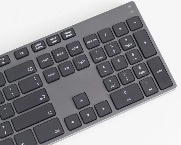 Subblim Advance Extended Teclado Bluetooth gris