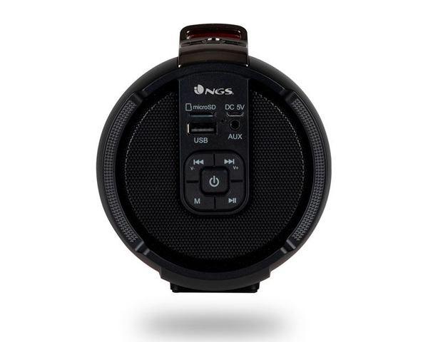 NGS Roller Tempo Altavoz Bluetooth Rojo