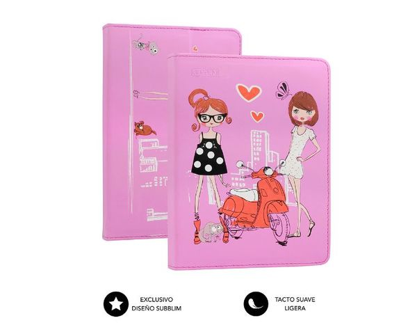 "Subblim Funda Fashion Girls para Tablets hasta 10.1"""