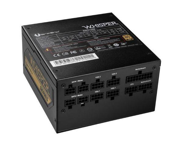 BitFenix Whisper Fuente de Alimentación 650W 80+ Gold Modular