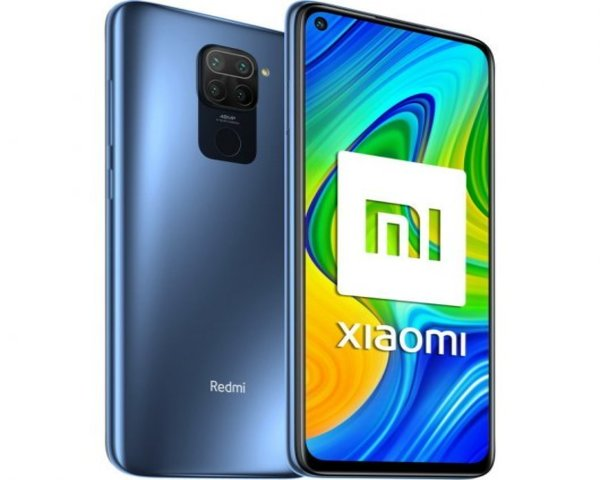 Xiaomi Redmi Note 9 3/64GB Gris Medianoche