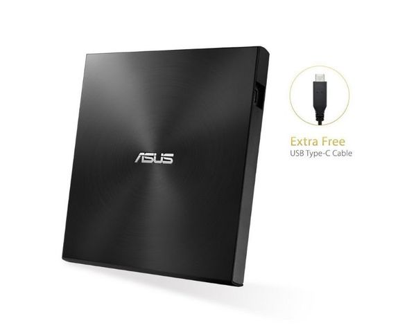Asus Zendrive SDRW-08U9M-U  DVD±RW Externo USB 2.0 Negro