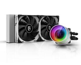 DeepCool GameStorm Castle 240EX A-RGB Kit de Refrigeración Líquida Blanco