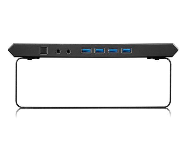 DeepCool M-Desk F3 Soporte Elevador para Monitor/Portátil USB 3.0 Negro