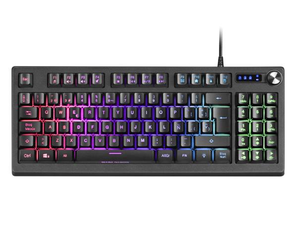 Mars Gaming MKREVO Teclado Gaming RGB