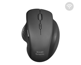 Mars Gaming MMWERGO Ratón Inalámbrico 3200DPI Negro