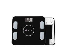 Leotec Smart Báscula Fitness Bluetooth 4.0 Negro