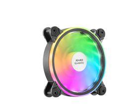 Mars Gaming MFX Ventilador ARGB Dual 120mm Negro