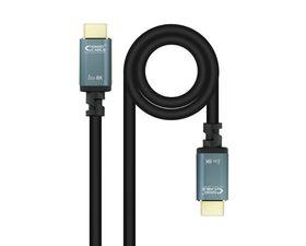 Nanocable Cable HDMI 2.1 Iris 8K Macho/Macho 3m Negro