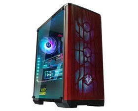 BitFenix Nova Mesh SE TG Cristal Templado USB 3.1 4A-RGB Negro/Rojo